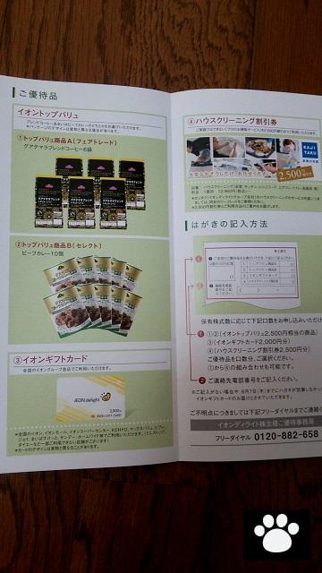 イオンディライト9787株主優待2