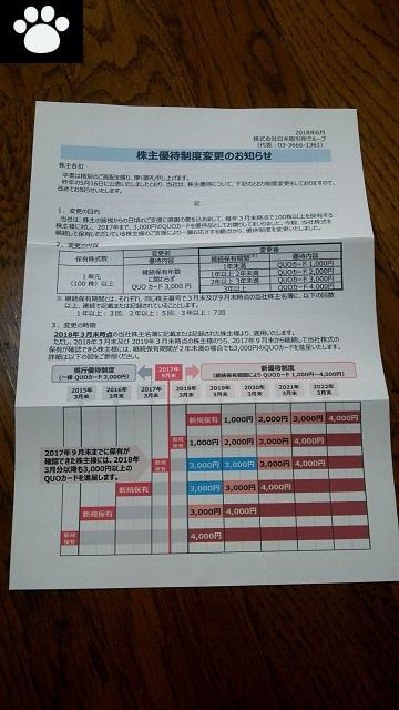 日本取引所グループ8697株主優待3