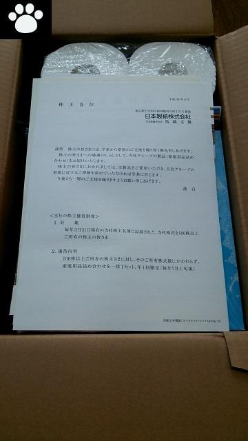 日本製紙3863株主優待2