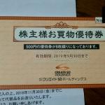 クリエイトSDホールディングス3148株主優待1