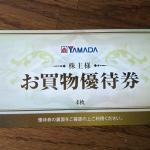 ヤマダ電機9831株主優待2