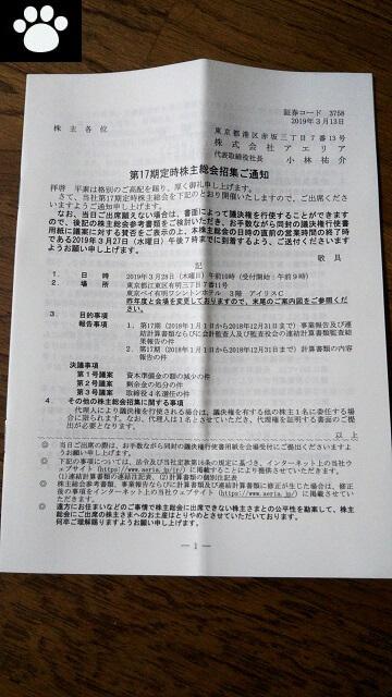 アエリア3758株主総会2019032301