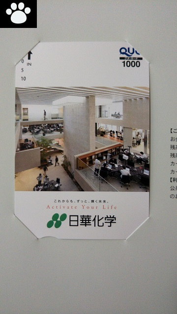 日華化学4463株主優待2019053102