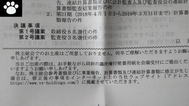 バーチャレクス6193株主総会2019062103
