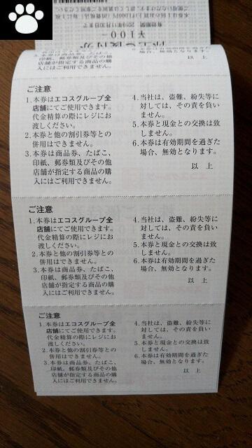 エコス7520株主優待2019070904