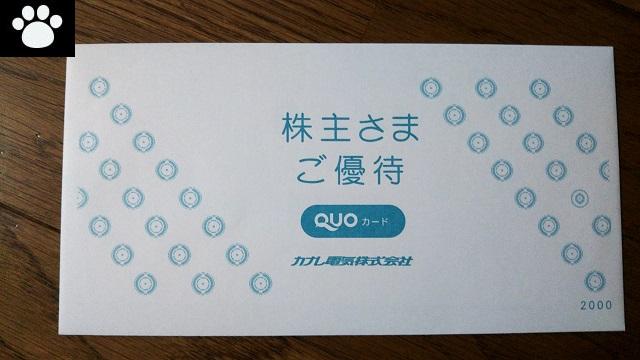 カナレ電気5819株主優待2020043001