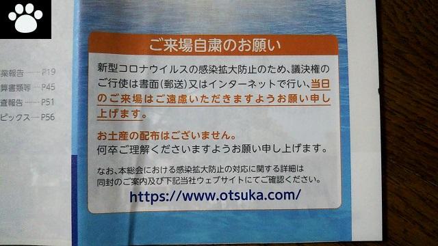大塚ホールディングス4578株主優待2021033103